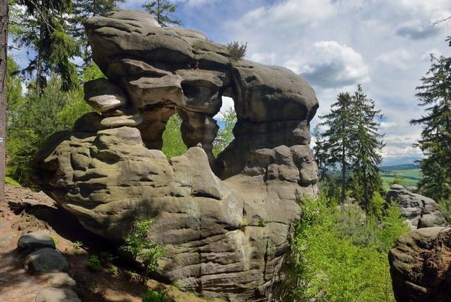 Národní geopark Broumovsko